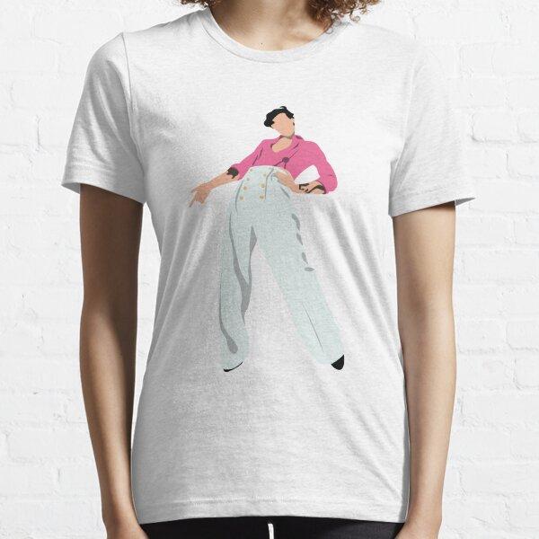 delgada linea. Camiseta esencial