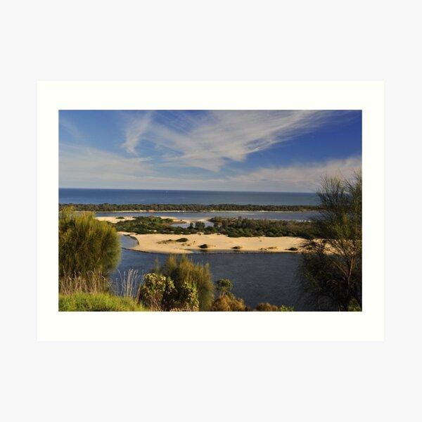 The Gippsland Lakes Art Print