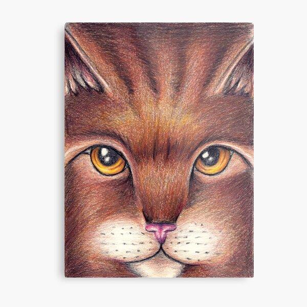 Warrior Cats Bramblestar Metal Print
