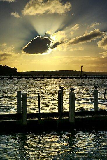 Corinella Sunset by Jim Worrall