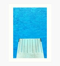 Diving Board 24 Art Print