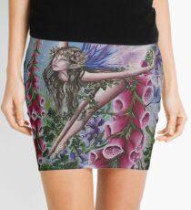 Foxglove fairy faerie fantasy elf pixie butterfly Mini Skirt