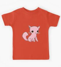 Myu the Candyfloss Cat Kids Tee