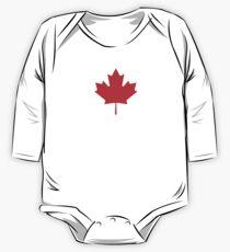 Canadian Canuck Maple Leaf Flag Bedspread Duvet Pillow Inverse Kids Clothes