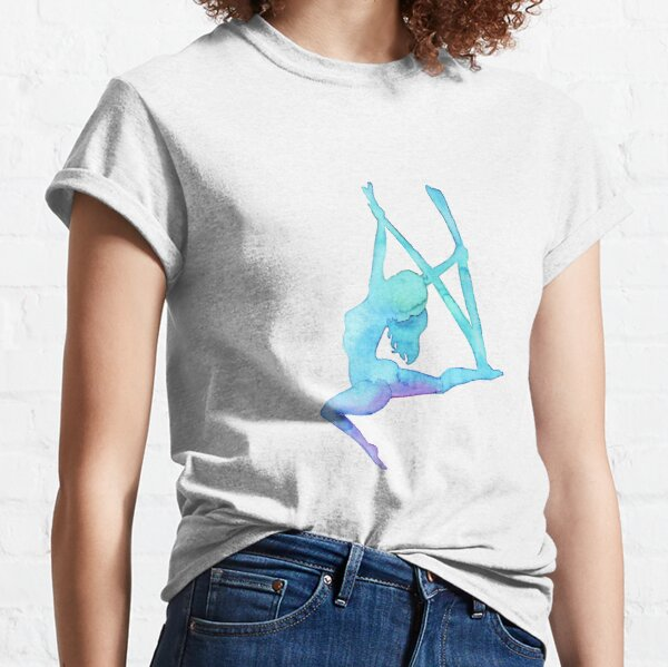 Aerial Girl - antigravity yoga Classic T-Shirt