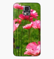 Pink Ranunculus #2 Case/Skin for Samsung Galaxy