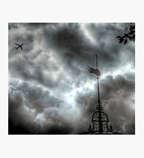 Into the Storm - Greenwich Photographic Print