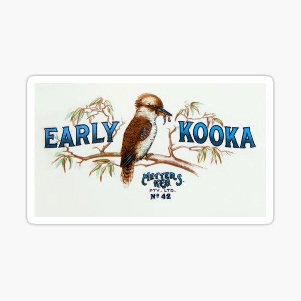 Early Kooka Metters Stoves Australia Sticker