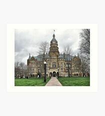 Trumbull County Courthouse Art Print