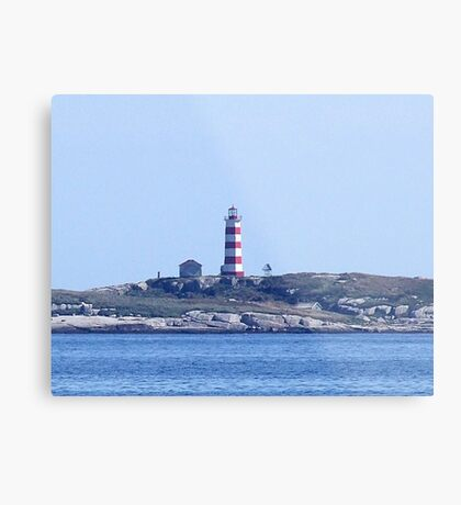 Sambro Island Lighthouse Metal Print
