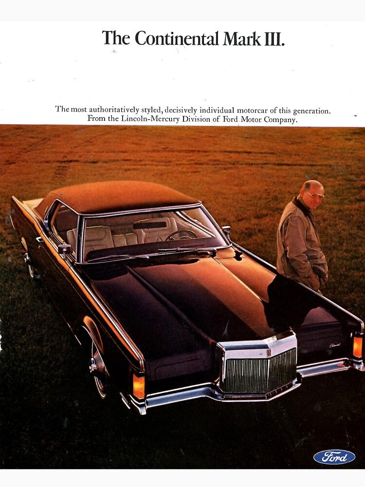 Ford Continental Mark III 1968 by liesjes