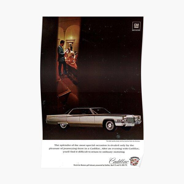 Cadillac 1969 Poster