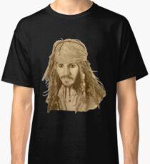 Captain Jack Sparrow (sepia) Classic T-Shirt