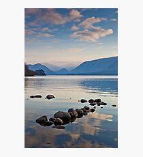 Evening Light over Derwent Water Photographic Print