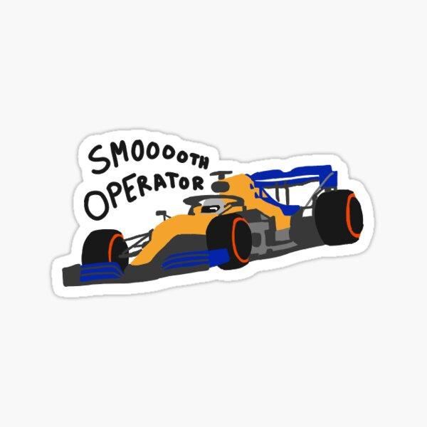 Carlos Sainz Smooth Operator Sticker
