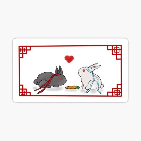 Wangxian Rabbits Sticker