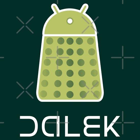 TShirtGifter presents: Droidarmy: Dalek - Android Green