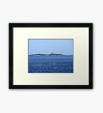 Sambro Island Light (01) Framed Print