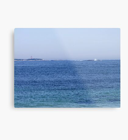 Sambro Island Light (02) Metal Print