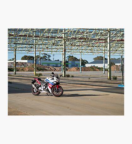 Honda CBR500R Photographic Print