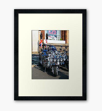 Quadrophenia Lives Framed Print