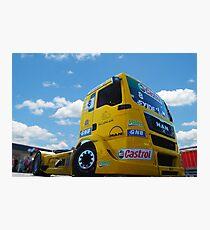 Race Truck Photographic Print