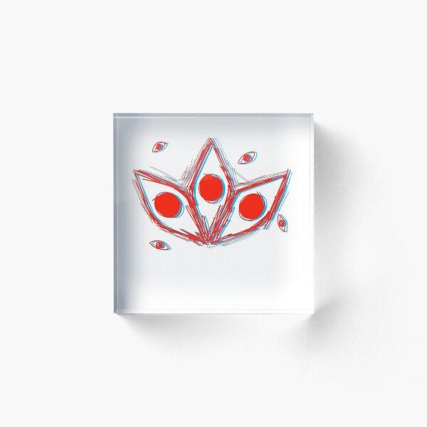Kishin Soul Eater Eyes Acrylic Block