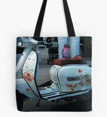 Rememberance Day Scooter Tote Bag