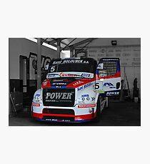 Race Truck 2 Photographic Print