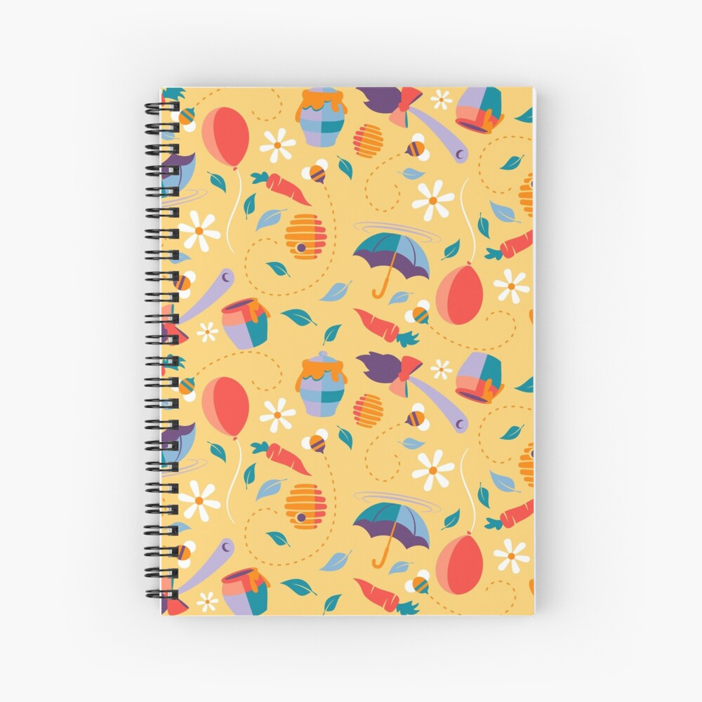 """""""How Do You Spell Love"""" Spiral Notebook By ArtByLPrentice"""