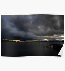 Storm Over Greenwell Point Poster