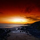 Red Sky At Night by Mike  Shaw