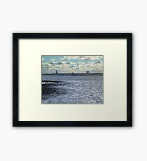 Devil's Island Lighthouse Framed Print