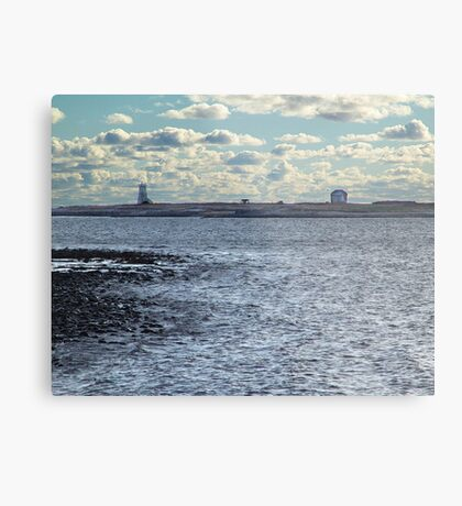 Devil's Island Lighthouse Metal Print