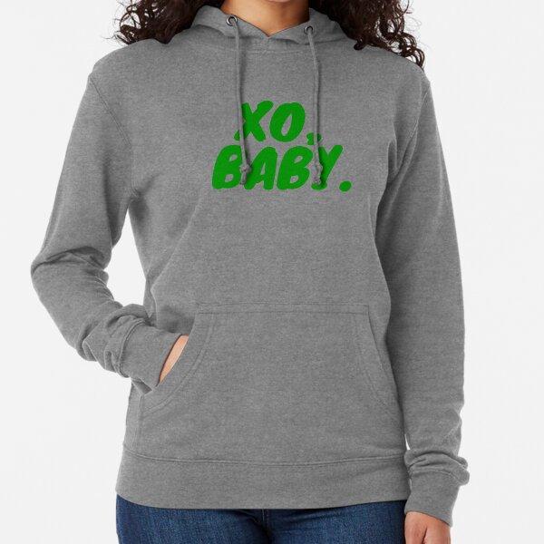 XO, Baby (Green) Lightweight Hoodie