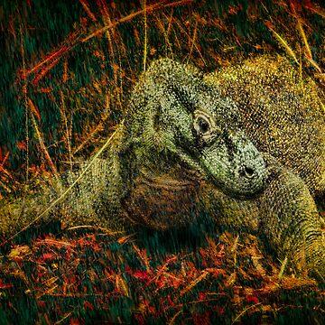 Komodo Dragon by ChrisLord