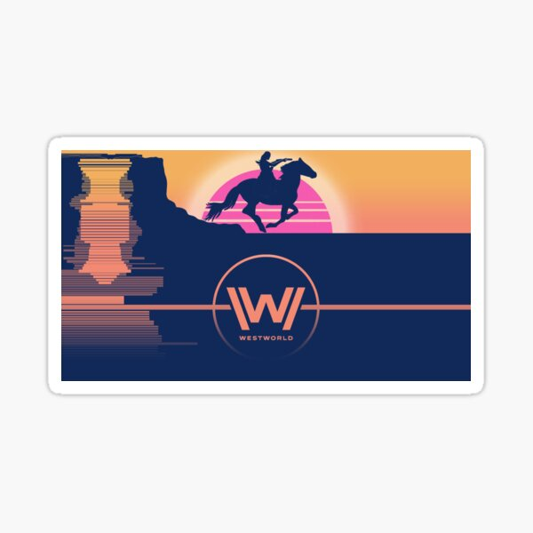 Affiche WESTWORLD Sticker