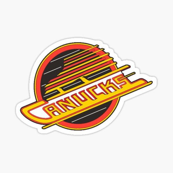Vancouver Hockey - Retro Canucks Skate Sticker