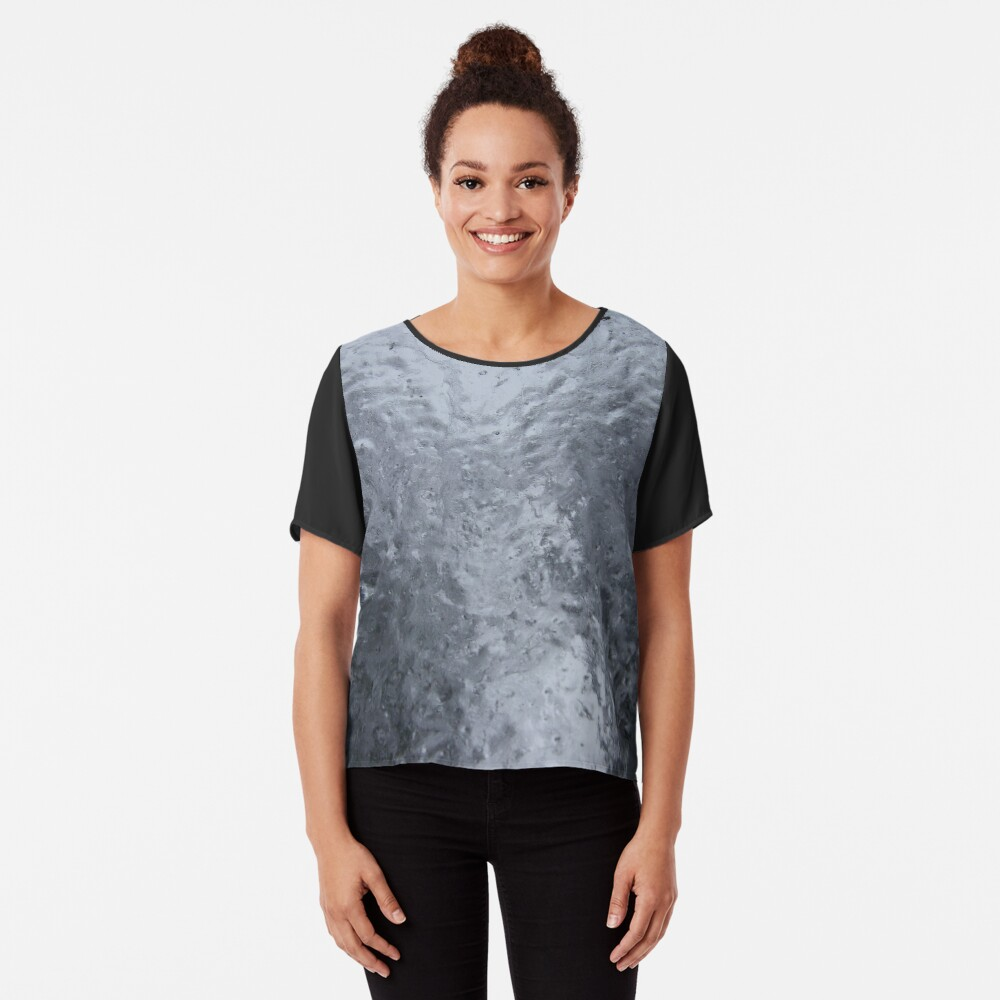 Two Icy Trees Chiffon Top