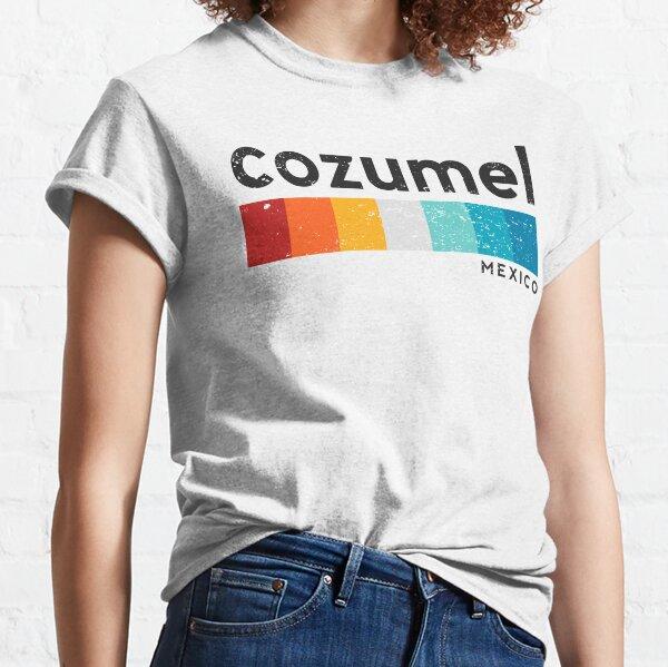 Vintage Cozumel Mexico Retro Design Classic T-Shirt