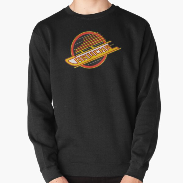Vancouver Hockey - Retro Canucks Skate Pullover Sweatshirt
