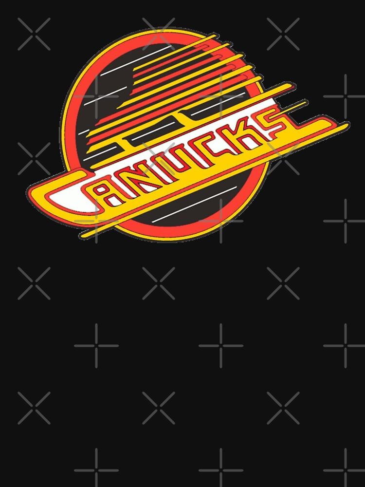 Vancouver Hockey - Retro Canucks Skate by TheSportsPage