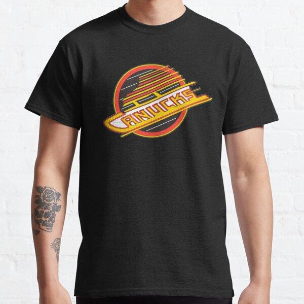 Vancouver Hockey - Rétro Canucks Skate T-shirt classique