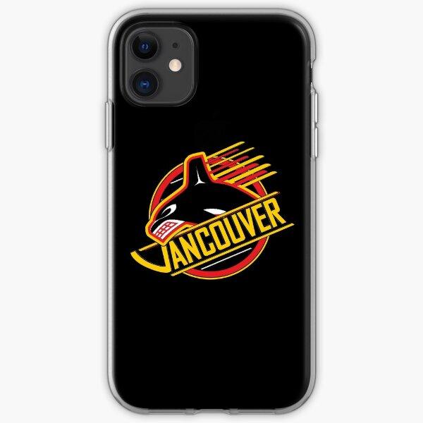 RARE: Vancouver Hockey - Retro Canucks iPhone Soft Case