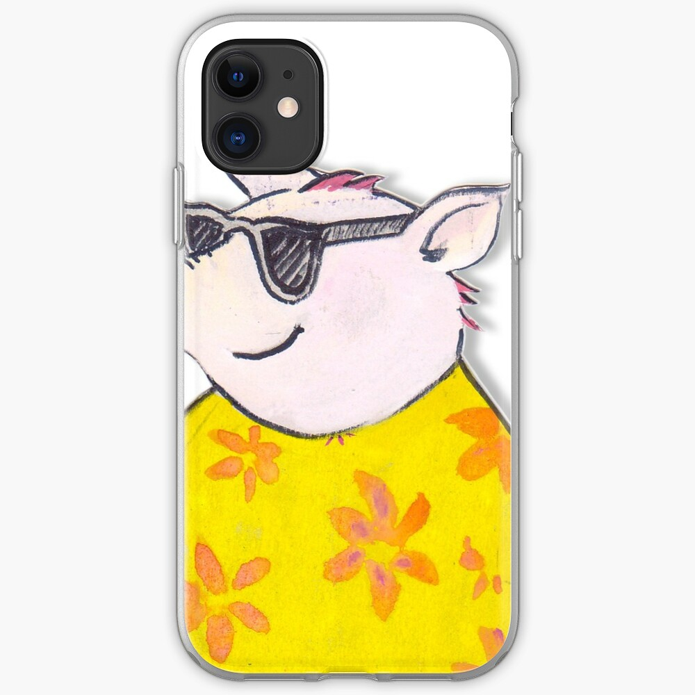 The 3 little pigs pass from the fierce wolf iPhone Case & Cover