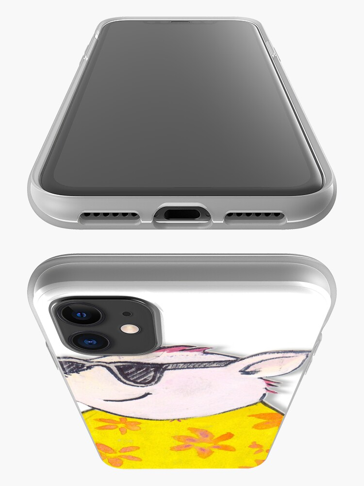 Alternate view of The 3 little pigs pass from the fierce wolf iPhone Case & Cover