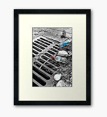 Sewer Framed Print