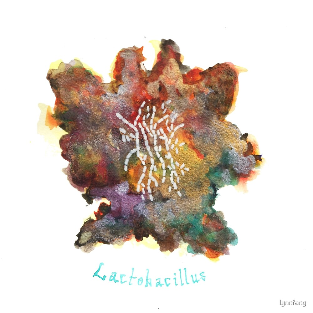 Lactobacillus Art Prints by lynnfang