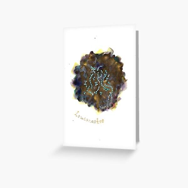 Leuconostoc Greeting Card Greeting Card