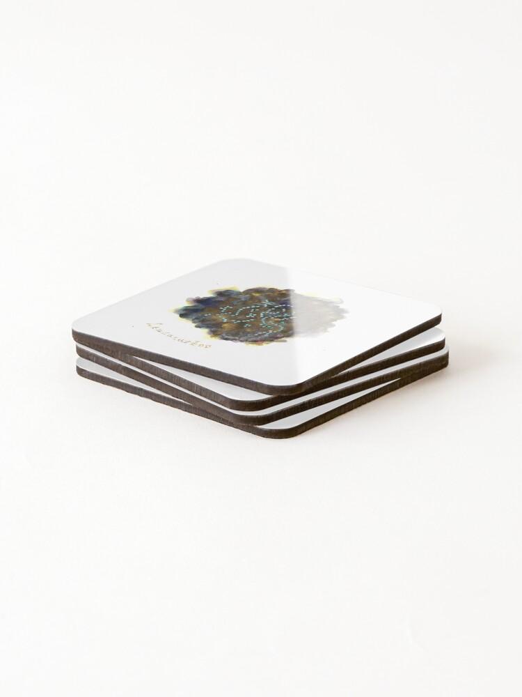 Alternate view of Leuconostoc Art Prints Coasters (Set of 4)